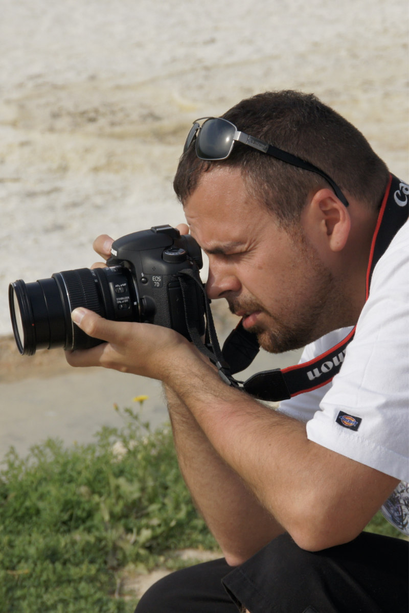 Yo y mi inseparable (en la época) Canon 7D